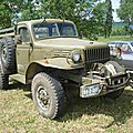 DODGE WC Weapons Carrier pick-up 1944