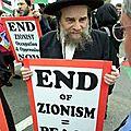 (samuel borg, chef de la communauté juive) « le sionisme a détruit les juifs ! »