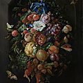 Jan Davidsz. de Heem, Festoon of Fruit and Flowers, <b>1660</b> - 1670