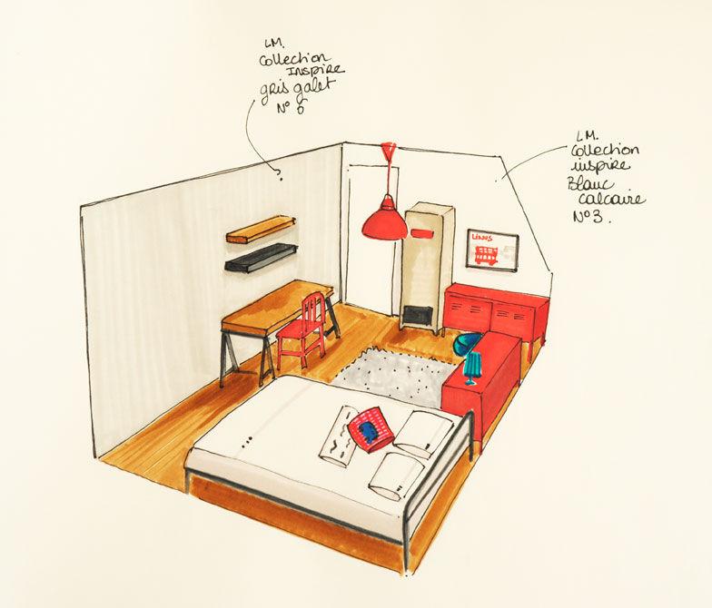 chambre-ado-2 - Photo de A:: Réalisation en projets - coach deco Lille