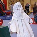 Déguisement de fantome pour halloween !!