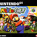 Test de Mario Golf - Jeu Video Giga France