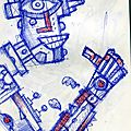 Un croquis robot