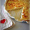 Tarte crabe – crevettes