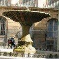 0592 - Fontaine de la Place d'Albertas Aix 16 juin