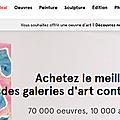Achetez de l'art sur internet : ça se fait !