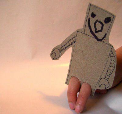 Marionnette robot