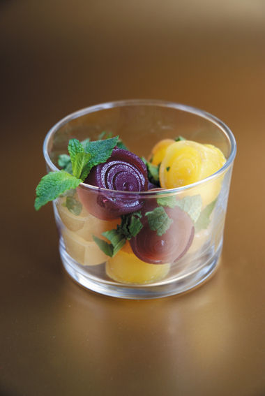 Salade de gelées de fruits