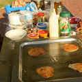 Pancakes a <b>Bunbury</b> beach