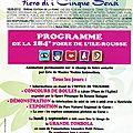 Cercle de conférences de benjamin casinelli à la foire de l'île-rousse