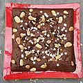 Brownie à la purée de noisette