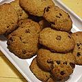 Cookies chocolat/noix de pécan
