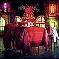 Nappe Cancan + 8 serviettes - <b>Moulin</b> <b>Rouge</b>
