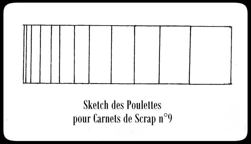 pour carnet de Scrap n°9