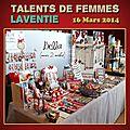 Retour sur le salon Talents de Femmes - <b>16</b> <b>Mars</b> <b>2014</b>