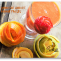 Smoothie abricot banane fraise battle food #20 sweet drinks
