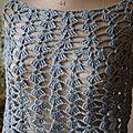 Chauffe-épaules en dentelle de crochet