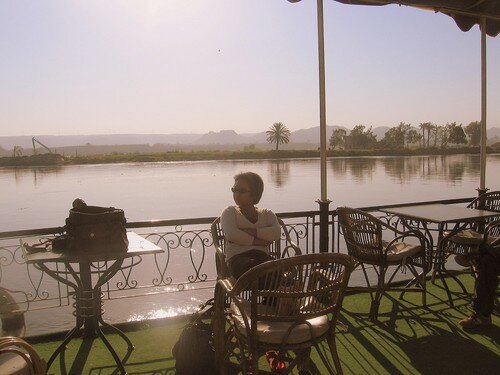 Relaxing on the Nile