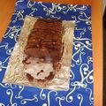 Cake mi-fondant au chocolat et gingembre confit