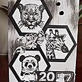 <b>Créablablablog</b> -défi#41 en noir et blanc !!