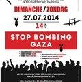 Manifestation nationale en solidarité avec la palestine // nationale manifestatie in solidariteit met palestina