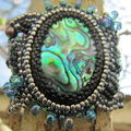 Bracelet free form à l'abalone