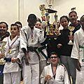 Bms-judo premier et meilleur club du 93 par equipe benjamins/benjanines et minimes masculinset feminines