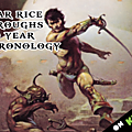 100 ans de chonologie illustrée d'<b>Edgar</b> <b>Rice</b> <b>Burroughs</b> ! #Kickstarter