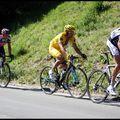 Tour de France 2009, Verbier, le maillot jaune
