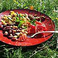Légumineuses en salades