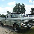 FORD <b>F</b>-<b>100</b> Custom 2door pick up 1970