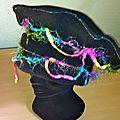 Chapeau customise art textile