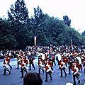 047 Défil-Inter-Alliés Berlin 13-05-1972 GB 1° Bataillon du 22° (Cheshire) Régiment avec Musique et Tambours