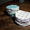 Coton à démaquiller lavable
