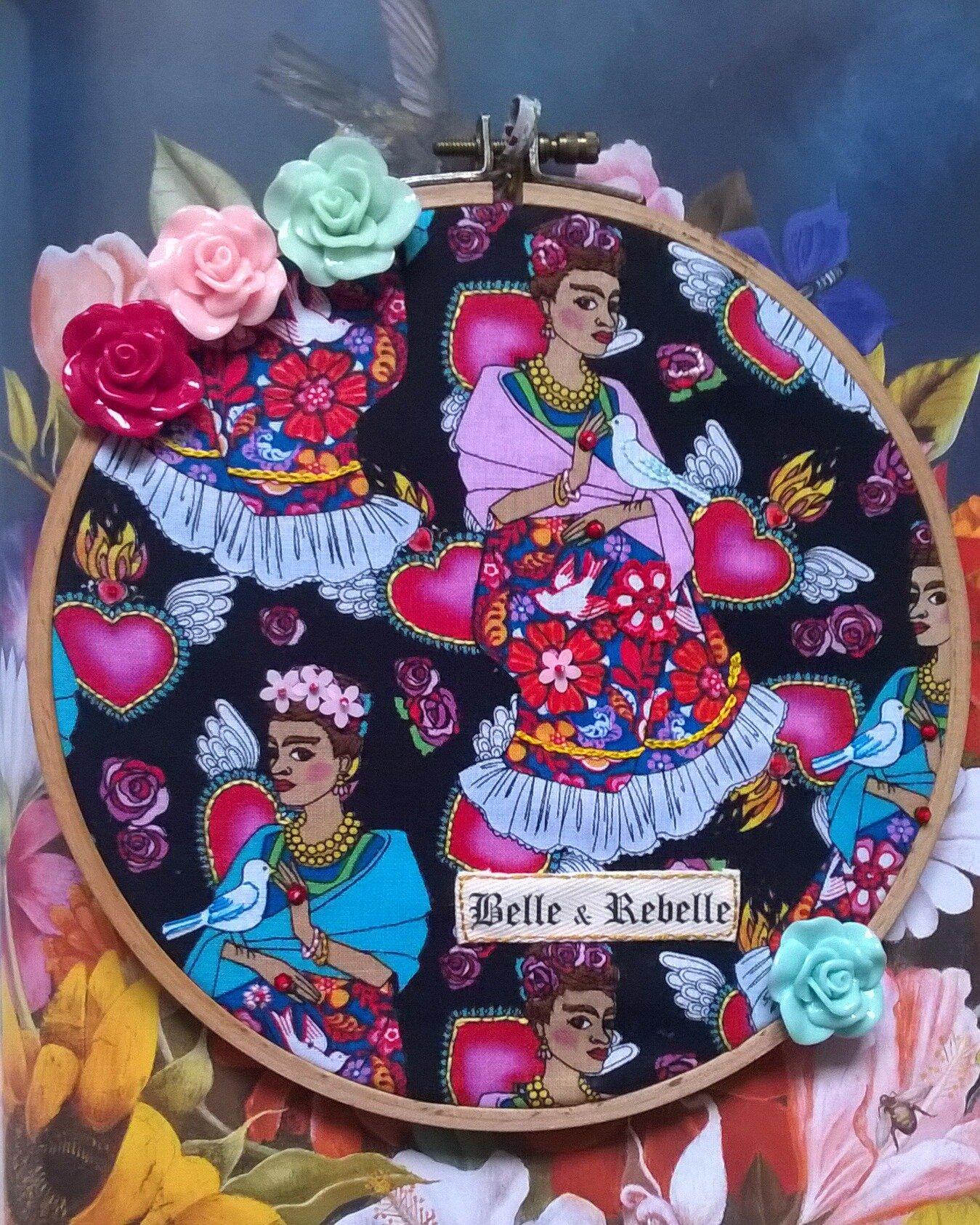 Frida Kahlo, Belle et Rebelle..