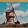 Guérande - moulin du Crémeur ou moulin du diable datée 1964