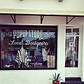 Le pop-up store d'hossegor...en images...