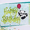 Pandas festifs !