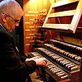 Adieu à pierre-françois baron, organiste