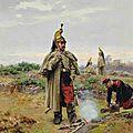 Grolleron, dragon français 1870