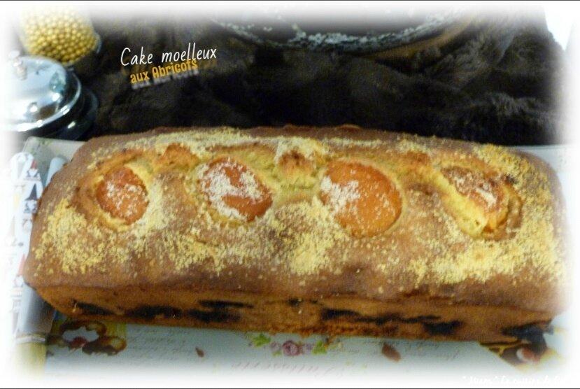 """ღ """" Miam """" Cake aux abricots et poudre d'amande"""