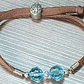 Astuce pour faire un bracelet avec cordon suède