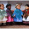 Quatre châles pour un printemps douillet - Four <b>shawls</b> for a cozy spring