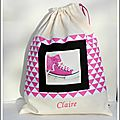 sac chaussures claire
