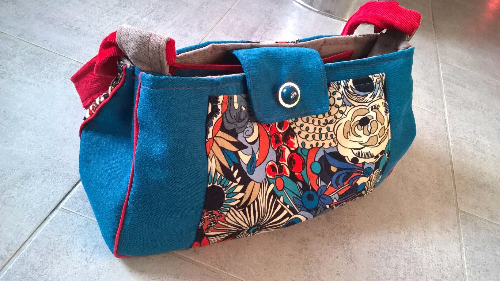 Entre deux couture pour Noël, un nouveau sac !