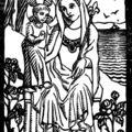 Arcachon, estampe de Notre Dame