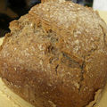 Irish soda bread ou pain irlandais