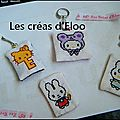 Porte clefs Hello Kitty & Miffy