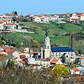 église et village de Teilhède
