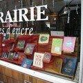 En vente à la librairie Pages d'encre